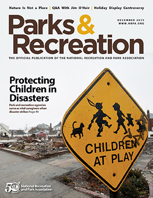 December 2015 Parks and Recreation ezine