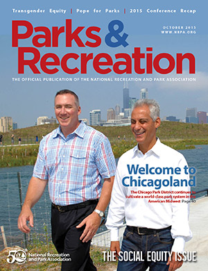 October 2015 Parks and Recreation ezine