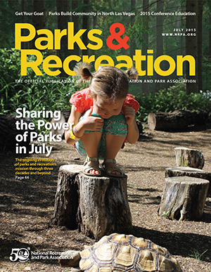 July 2015 Parks and Recreation ezine