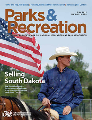 May 2015 Parks and Recreation ezine