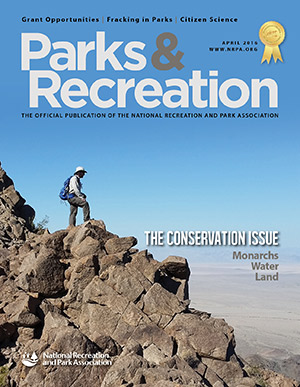 April 2016 Parks and Recreation ezine