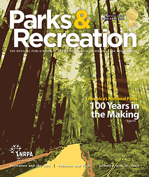 August 2016 Parks and Recreation ezine