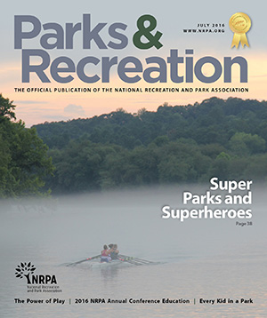 July 2016 Parks and Recreation ezine